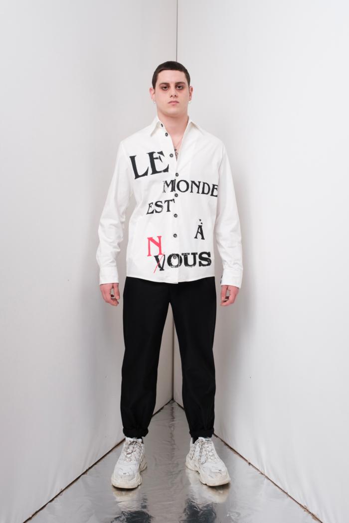 giacca camicia Le Monde Est a Nous
